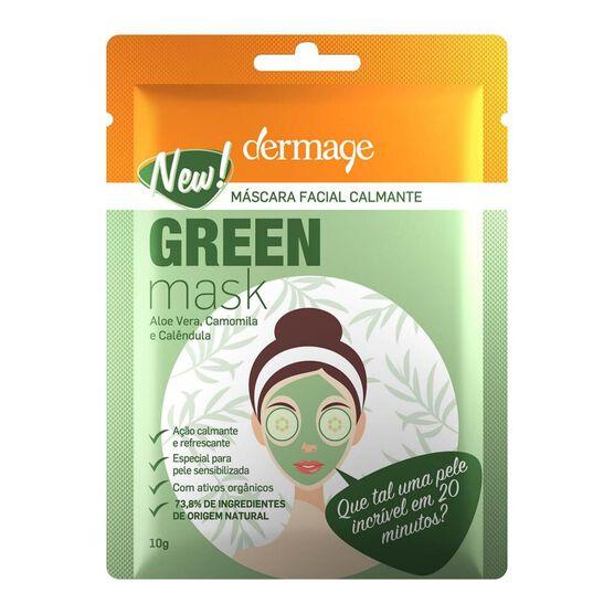 DERMAGE    GREEN MASK    FACE 10GR