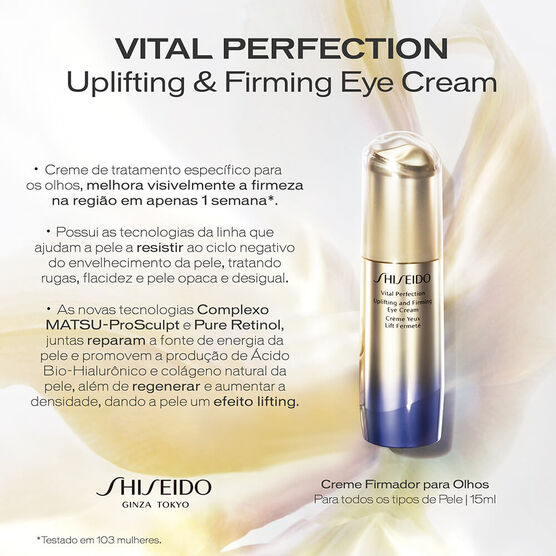 SHISEIDO   VITAL PERFECT EYES 15ML