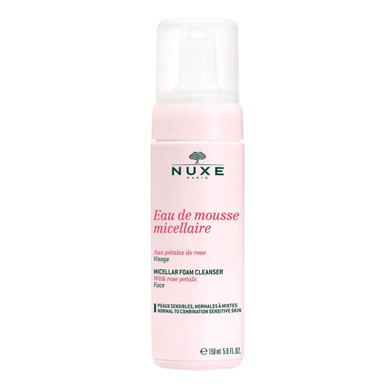 NUXE       MOUSSE MICEL. EAU  150ML