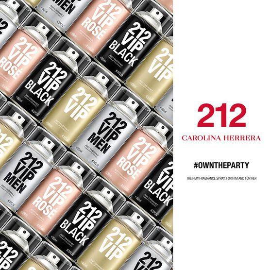 C.HERRERA  212VIPMEN BLK DEOD 250ML
