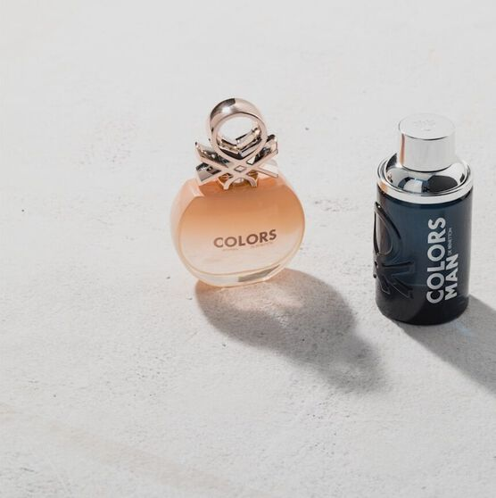 BENETTON   COLORS BLACK  EDT  100ML