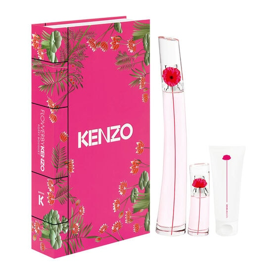 KENZO      FLOWER BY KEN SET  3 PCS
