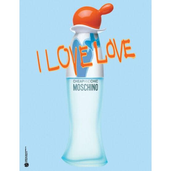 MOSCHINO   I LOVE LOVE   EDTV 50ML