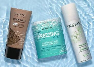 Seleção de cuidados para a pele com até cinquenta por cento de desconto!