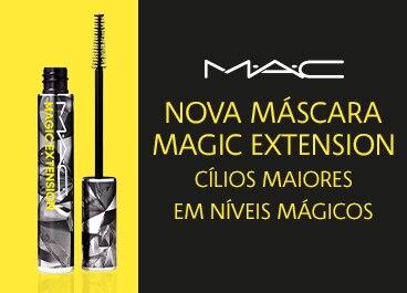 Nova Máscara Magic Extension: cílios maiores em níveis mágicos.