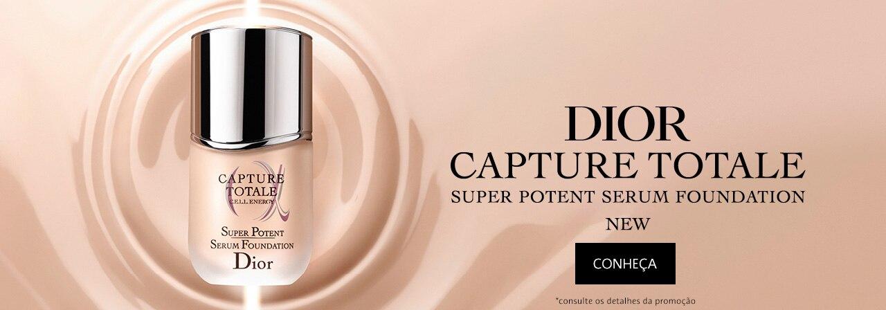 Conheça o novo Dior Capture Totale Super Potente Serum Foundation.