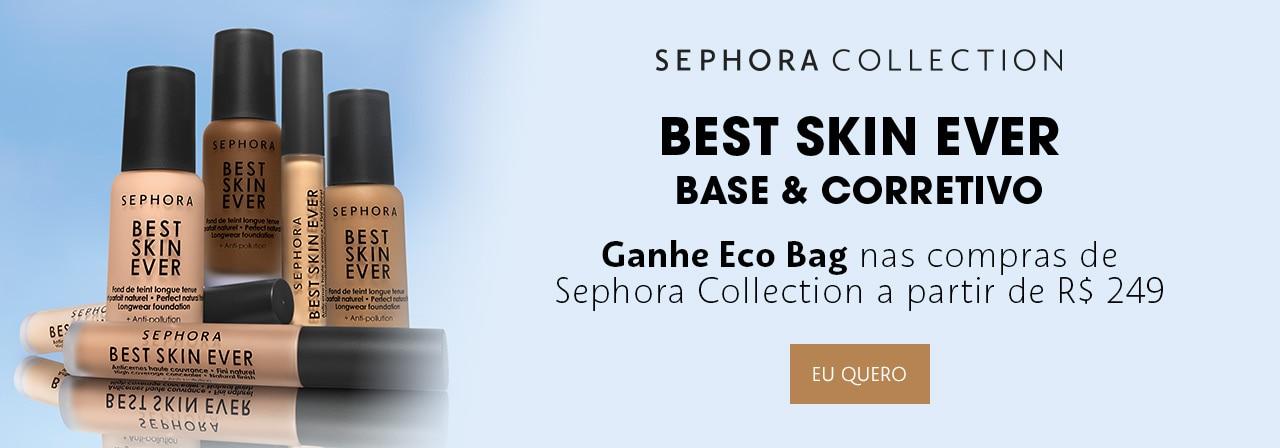 Sephora Collection. Ganhe ecobag nas compras da marca de duzentos e quarenta e nove reais.
