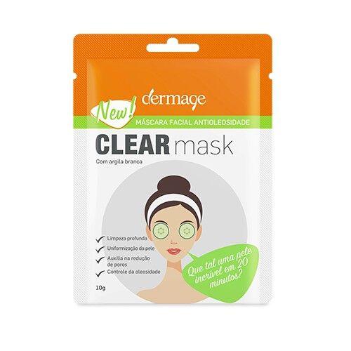 DERMAGE    CLEAR MASK    MASK 10 G